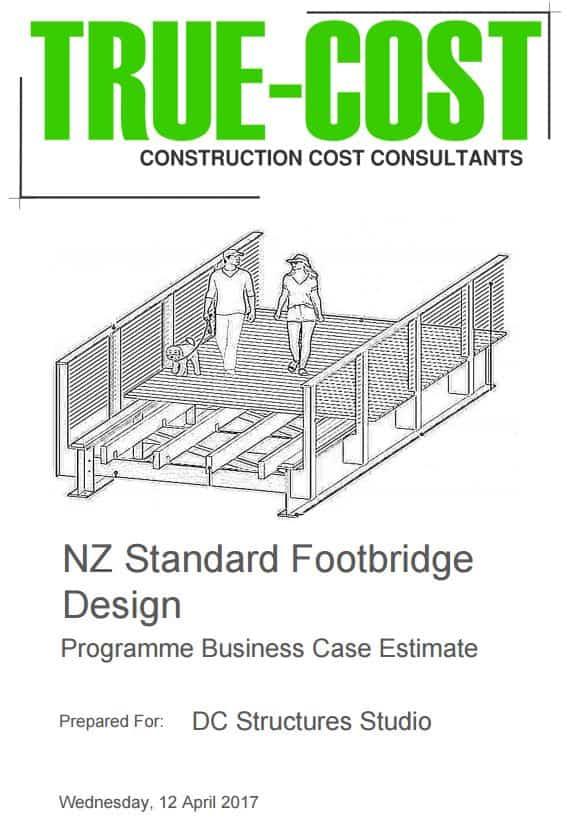 Standard NZ Footbridge - Truecost NZ Estimate